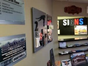 Summit Signs & Design in SE Calgary