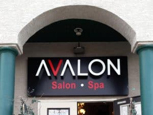 Avalon Salon & Spa Sign