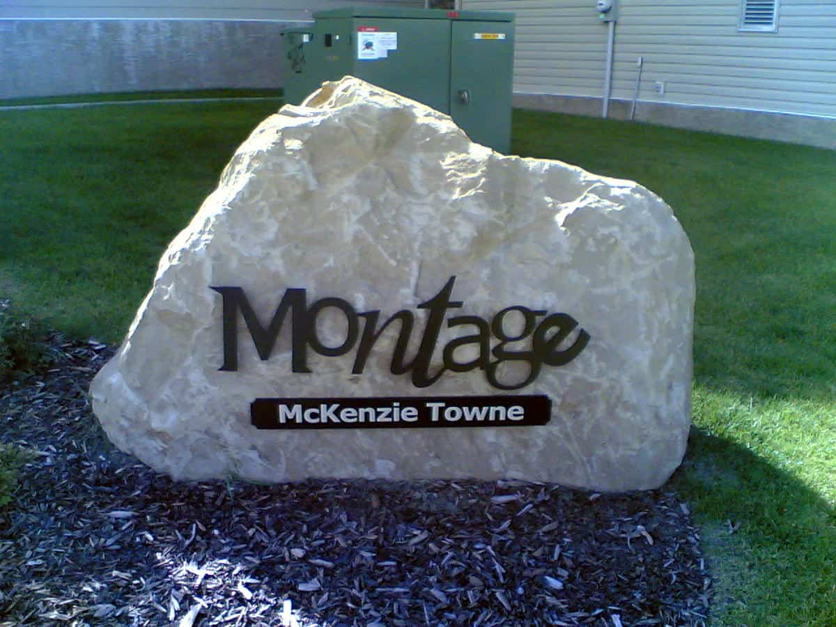 Montage McKenzie Towne Entrance Sign