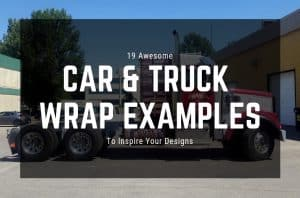 19 Awesome Car & Truck Wrap Examples